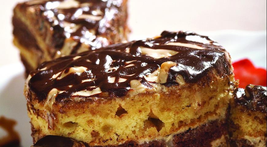 Рецепт Грузинский медово-ореховый торт
