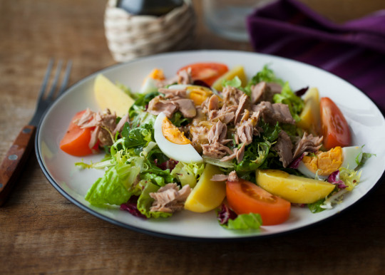 Рецепт Салат с тунцом