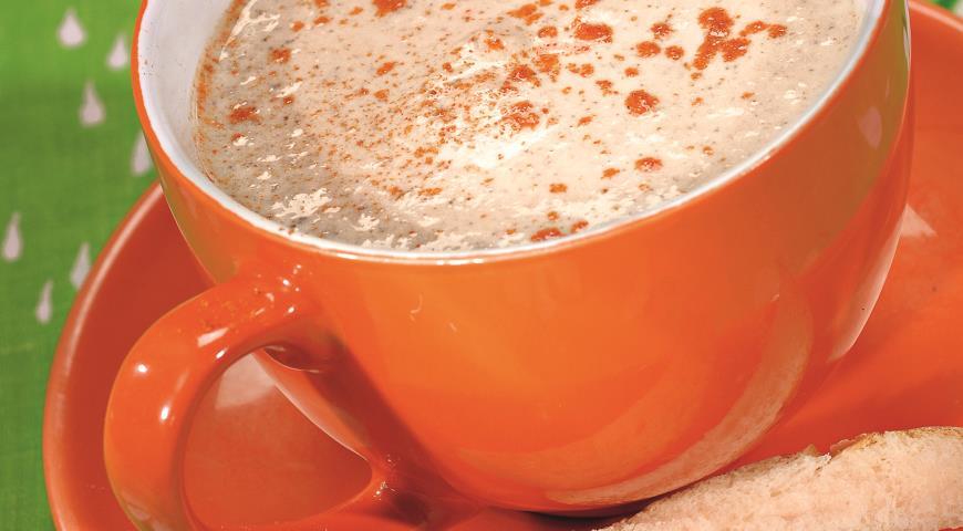Рецепт Суп-крем из шампиньонов и кольраби