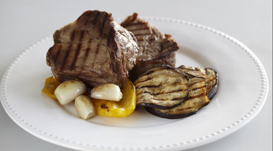 Рецепт Свиная шейка - барбекю