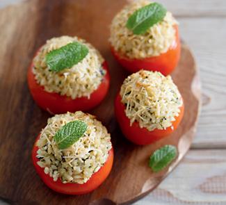 Рецепт Запеченные с рисом помидоры