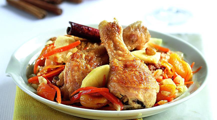 Рецепт Соте из курицы