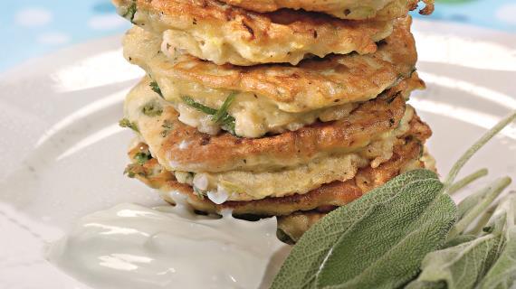 Печеночные оладьи, пошаговый рецепт с фото