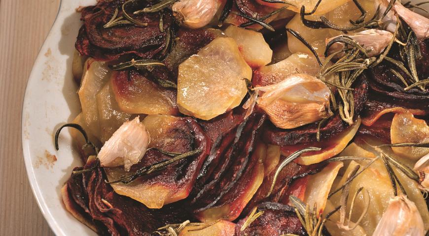 Рецепт Гарнир из картофеля и свеклы