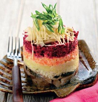 под шубой салат пошаговый рецепт