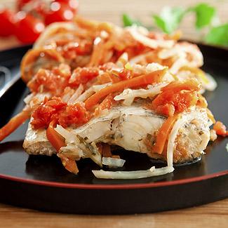 Рецепт Рыба в томатном соусе в мультиварке
