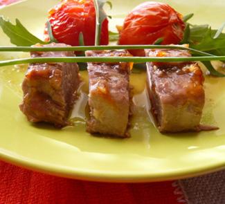 Рецепт Телятина, жаренная под соусом