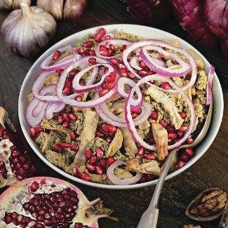 Рецепт Пхали из баклажанов