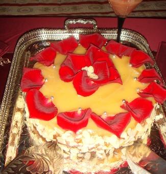 Рецепт Десерт Королева Анна (авторский торт из известных британских продуктов)