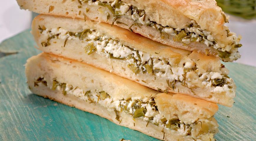 Рецепт Осетинский пирог с зеленью