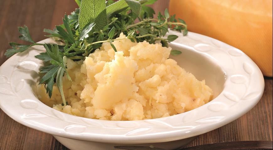 Как сделать картофельное пюре с сыром и маслом