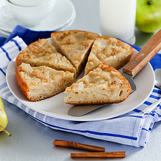 Рецепт Итальянский фруктовый пирог в мультиварке