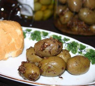 Рецепт Закуска из оливок