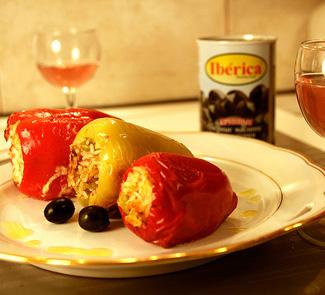 Рецепт Pimientos rellenos (фаршированные перцы)