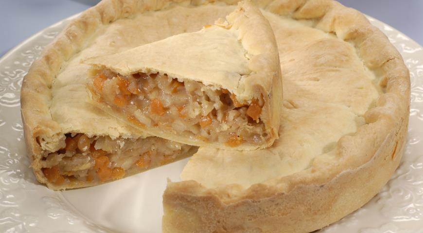 Рецепт Тыквенный пирог / Пирог с тыквой