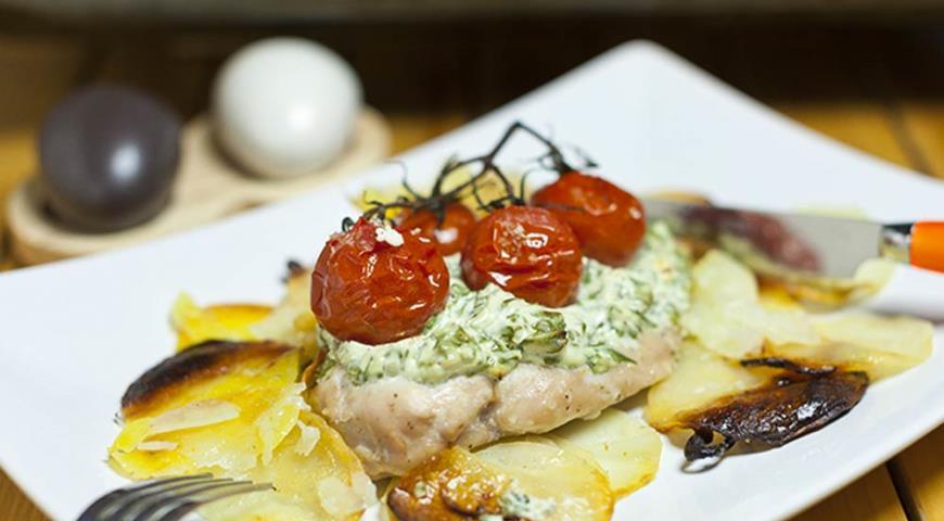 Рецепт Куриные грудки в итальянском стиле