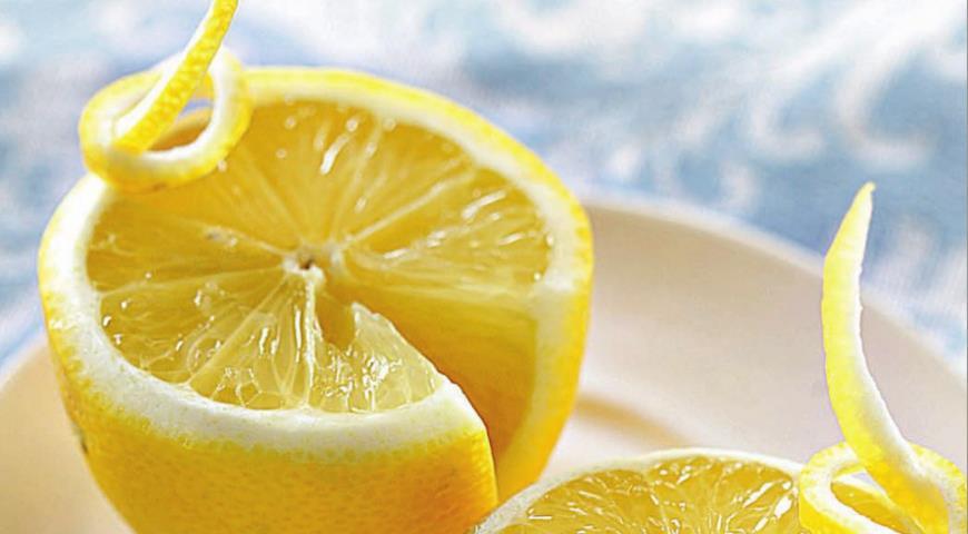 Рецепт Лимон с бантиком