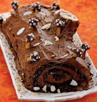 торт полено рецепт с фото