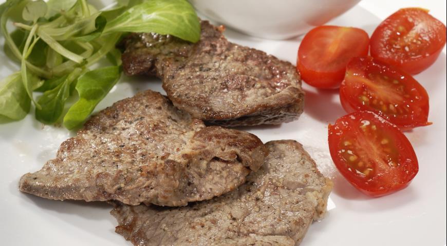 Рецепт Говядина с чесночным соусом