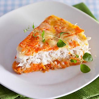 в с для детей фото рецепт Рыбная картофелем запеканка с мультиварке