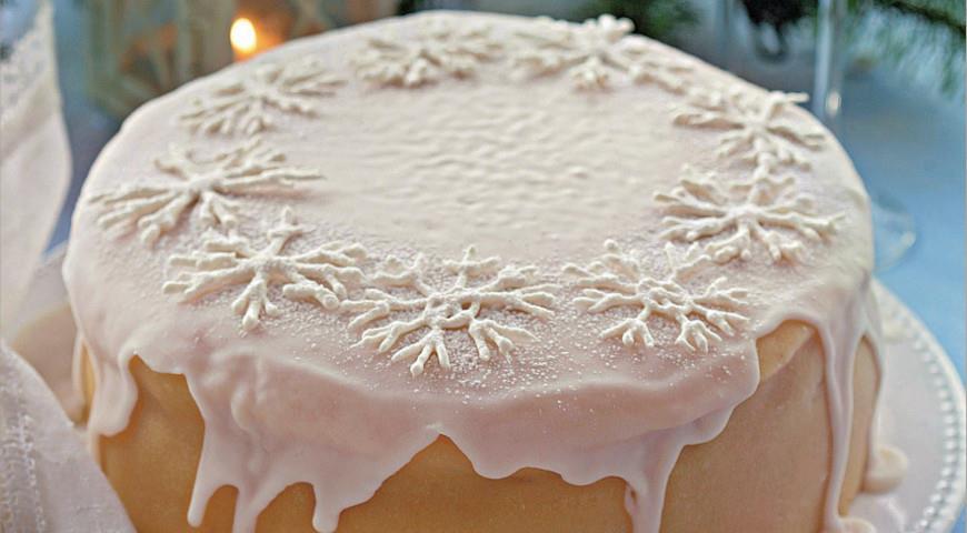 Рецепт Снежный торт