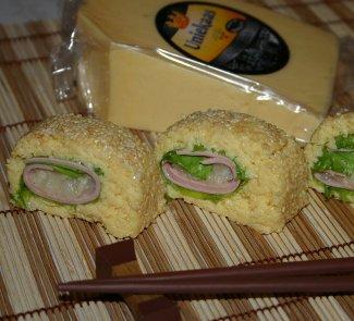 Рецепт Сырные роллы с грушевым чатни