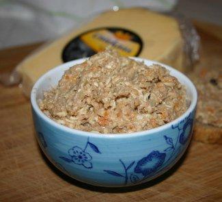 Рецепт Cырно-мясной паштет