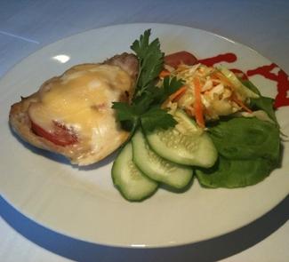 Рецепт Свинина с сыром Uniekaas