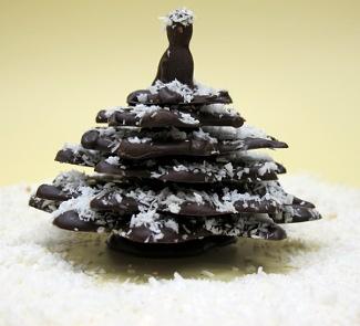 Рецепт Шоколадная елочка от шоколатье Дмитрия Матейчика