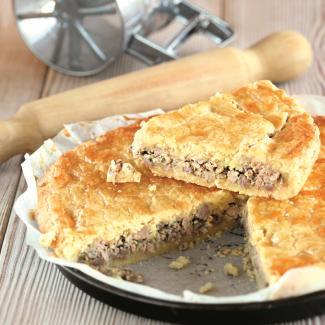 Рецепт Туртьер - мясный пирог