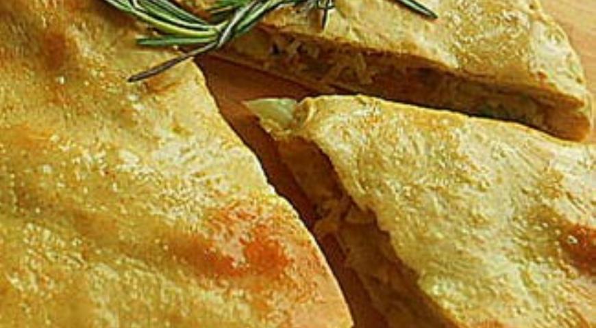 Рецепт Постный пирог с персидской чечевицей