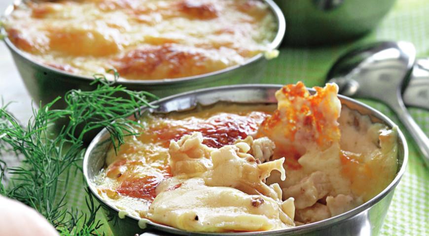 Рецепт Куриный жюльен с грибами