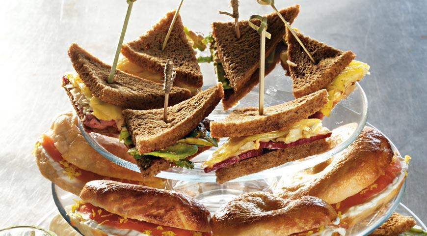 Рецепт Тапас из сэндвича Рубена