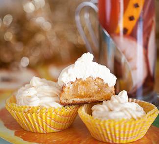 Рецепт Апельсиновые маффины и рождественский чай