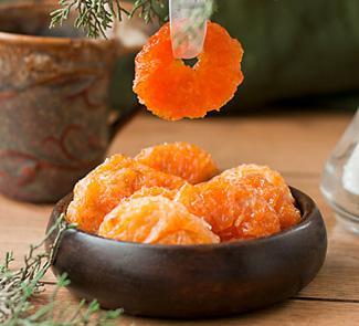 Рецепт Карамелизированные мандарины