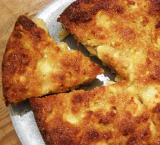 Рецепт Яблочно-творожная запеканка