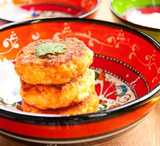 Рецепт Сырники с морковью, кумином и кориандром