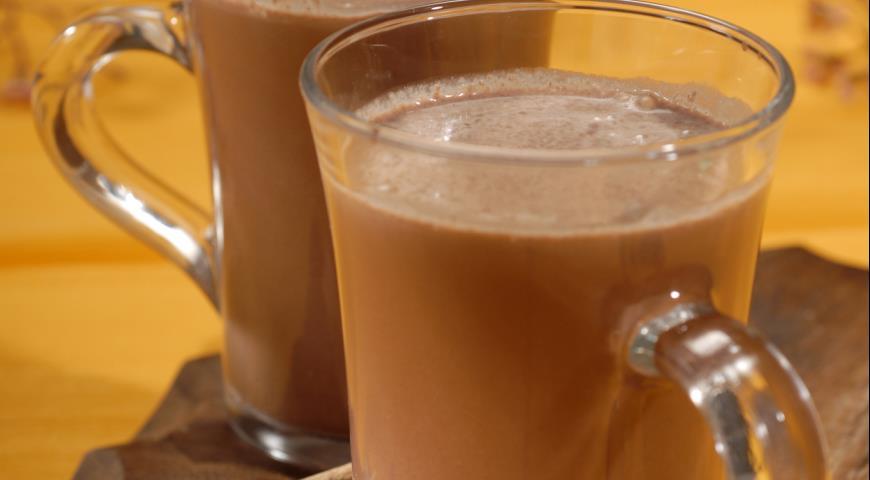 Рецепт Горячий шоколад по-филиппински