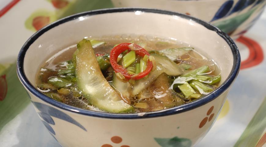Рецепт Огуречный суп