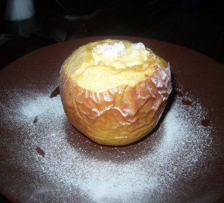 Рецепт Чизкейк в яблоке