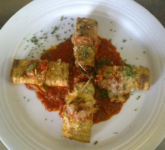 Рецепт Баклажаны с моцареллой (Eggplant mozzarella)