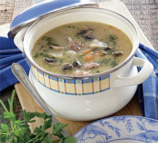 Рецепт Суп из куриных потрошков