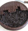 Черемуховый торт с вишней. Шаг 6