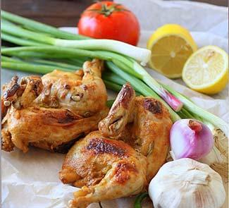 Рецепт Курица в йогуртовом маринаде с прияностями по-арабски