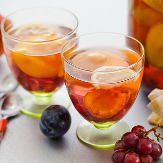 Рецепт Сборный фруктовый компот в мультиварке