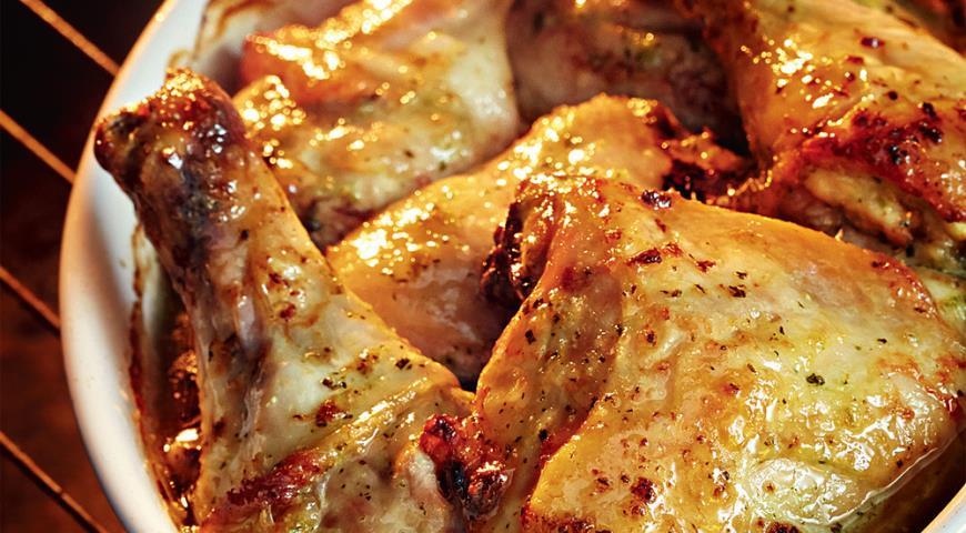 Рецепт Куриные ножки в маринаде из кинзы