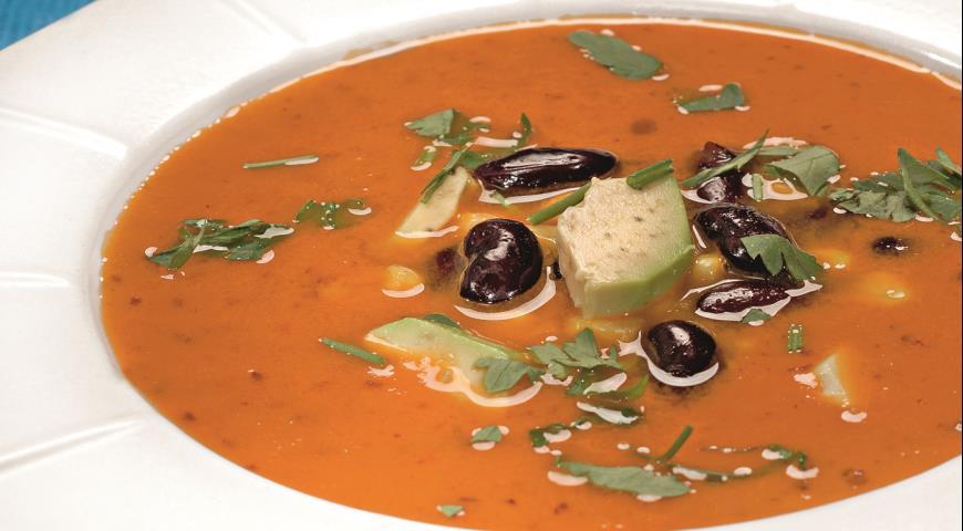 Рецепт Суп из фасоли по-испански