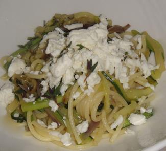Рецепт Паста с печеными овощами