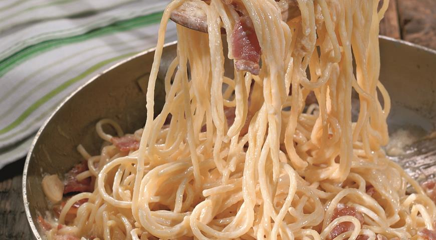 Рецепт Спагетти карбонара
