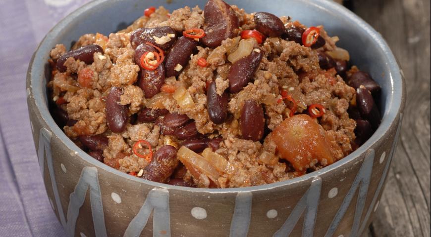 Рецепт Мясо с чили по-мексикански